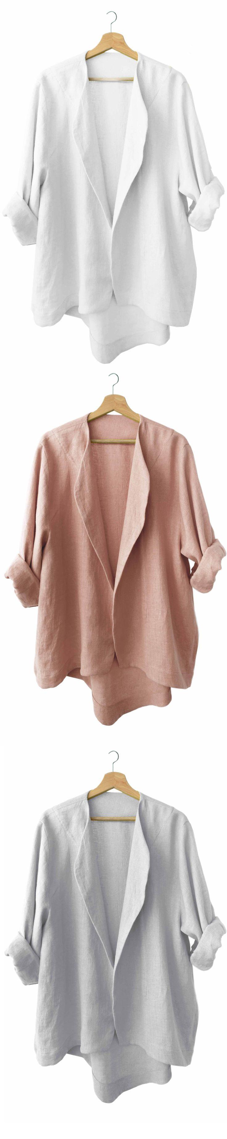 LOVELY HOME IDEA // LHI wear //  Linen jackets