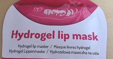 Review Mascot Europe hydrogel lip mask