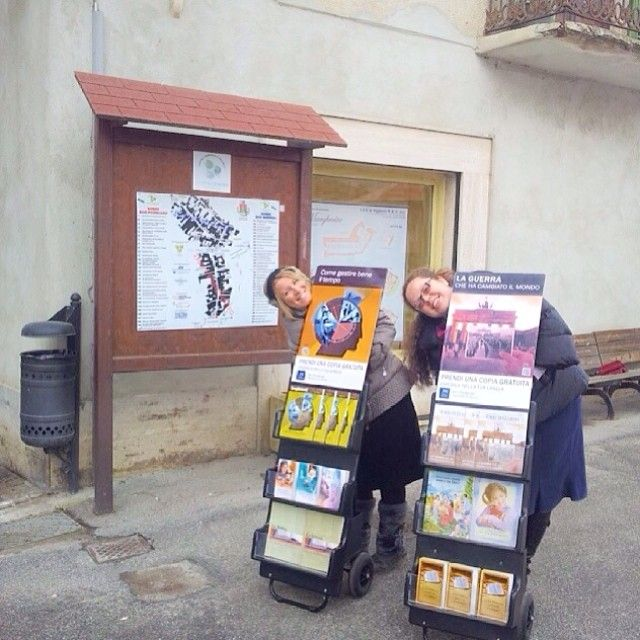 .@jw_watchtower_ | Public Witnessing in Cortemilia, Italy. Photo shared by @crystinajw | Webstagram