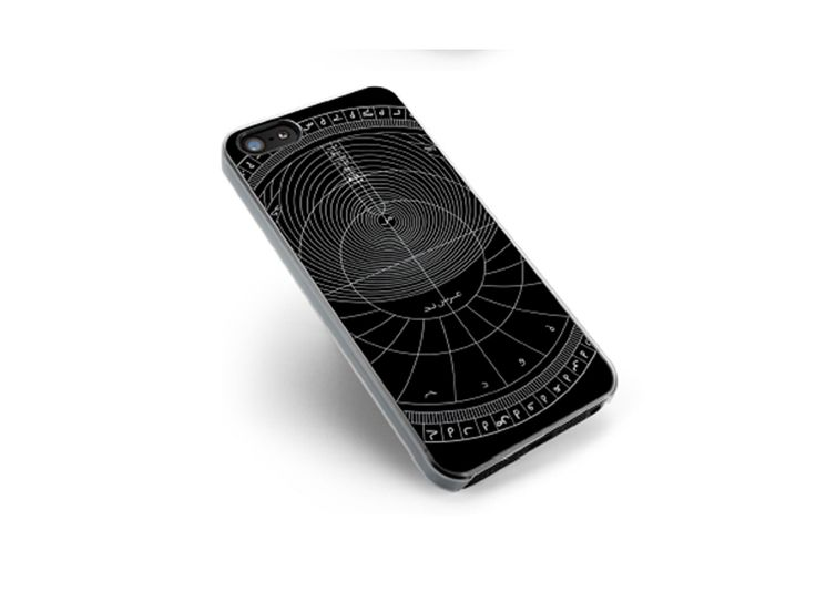 Phone cover with astrolabe motif (UV printing).