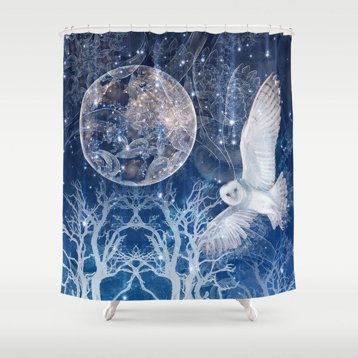 The Temple Of The Full Moon Shower Curtain Curtains Shower