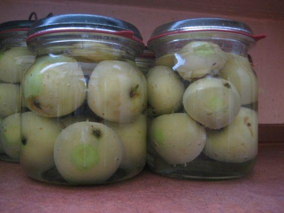 Консервированные яблоки целиком / Заготовка фруктов / TVCook: пошаговые рецепты с фото