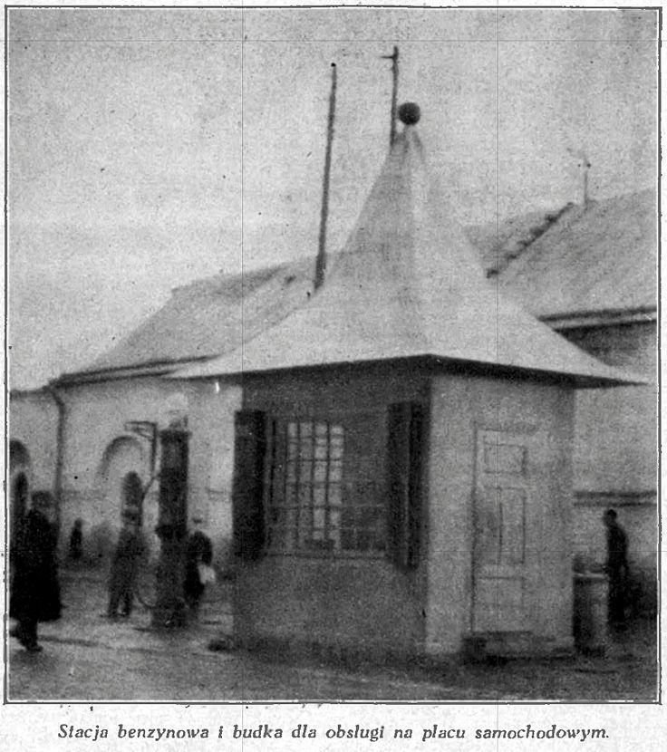:: Stacja benzynowa – plac samochodowy w Zamościu