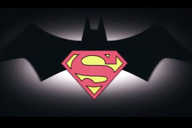Mira esta genial versión de Batman v Superman al estilo de las series animadas