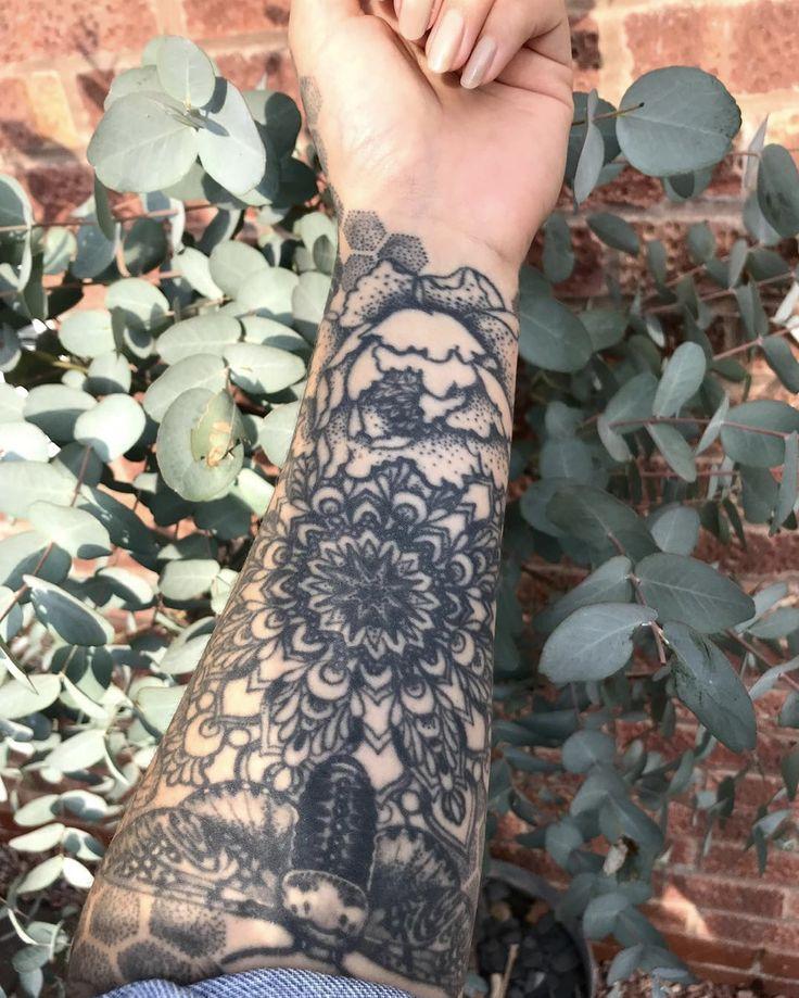 Instagram ringsandneedlesworcs moth tattoo