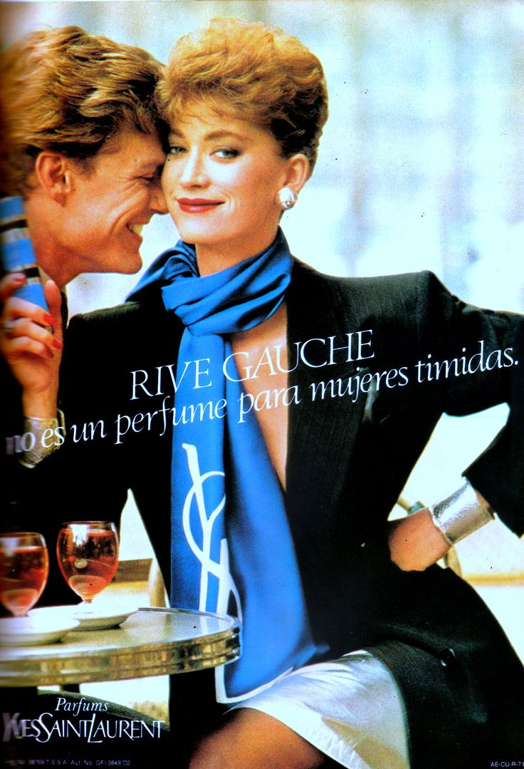 Rive Gauche left bank of Paris, my late 70s perfume. Came right after Charlie.