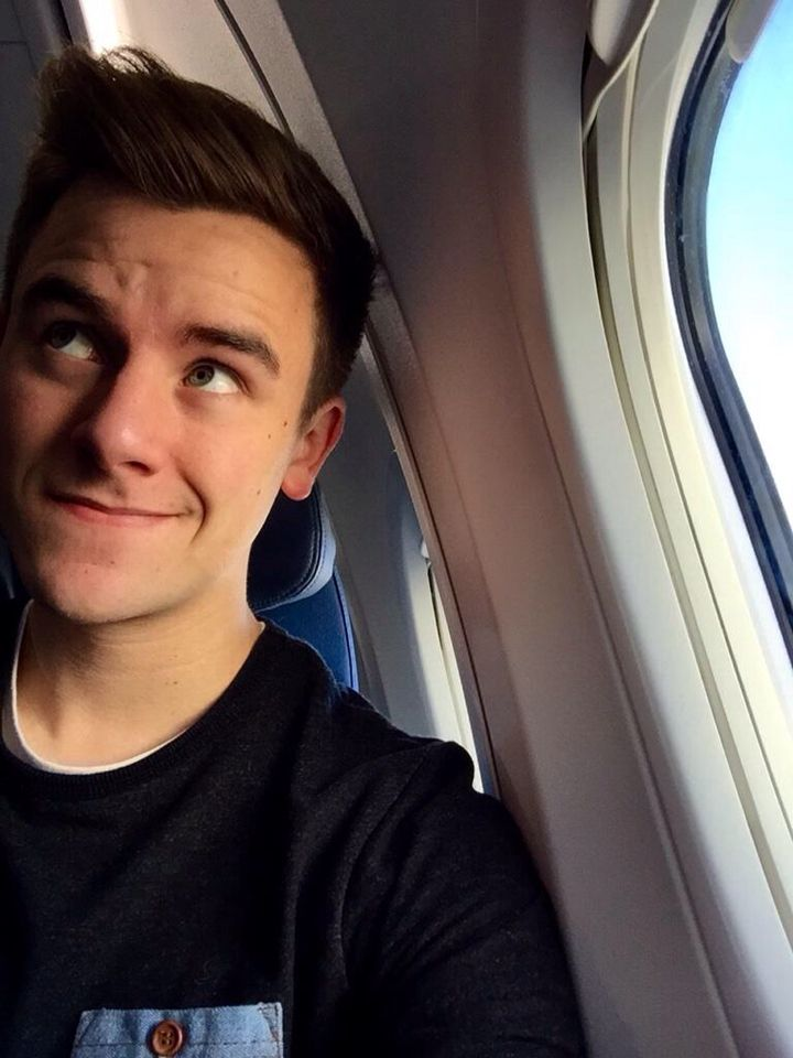 Connor on his way to Africa!