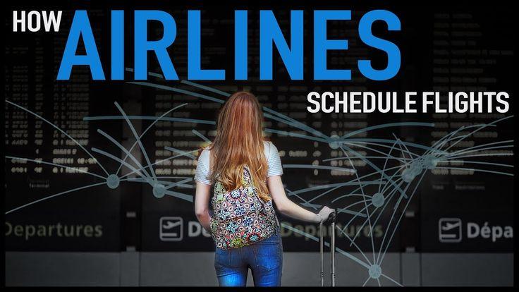 How Airlines Schedule Flights - YouTube