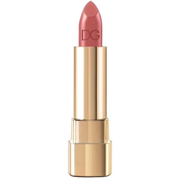 Dolce & Gabbana Make-up Classic Cream Lipstick (135 RON) ❤ liked on Polyvore featuring beauty products, makeup, lip makeup, lipstick, beauty, lips, make, gloss lipstick, glossy lipstick and moisturizing lipstick