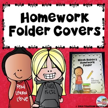 Does your school use the homework folders with the clear front pocket? These homework folder covers look fantastic and are a great way to personalize them for your classroom. These homework covers come in color and black and white versions. There are 2 sections that are editable to add the students name, your name and room number.You must have PowerPoint in order to edit this file and the clipart and frames are not editable only the text portion.