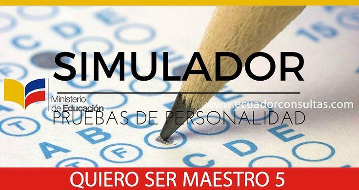 Descargar Simulador Pruebas de Razonamiento – Quiero Ser Maestro 5: http://ecuadorconsultas.com/descargar-simulador-pruebas-de-razonamiento-quiero-ser-maestro-5/