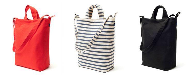 Canvas bags.  http://shop.yalo.fi/search/?q=canvas+bag