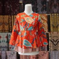 Batik Trusmi Blus Jumbo Batik Trusmi Orange IDR.145.000  *bahan: Katun *size: M, L & XL *pilihan warna: Orange ----------------------------------------------------------------------------- Info Order, hubungi Team Marketing Online kami [Open Reseller & Dropship] --> Phone/SMS/Whatsapp/Line : Dian : 081564690003 | PIN BB: 57FA23DC Linda: 085864040786 | PIN BB: 57E93563 Gina : 089665271943 | PIN BB: 79FCA1A9 Viny : 085724290097 | PIN BB: 56F40C1A