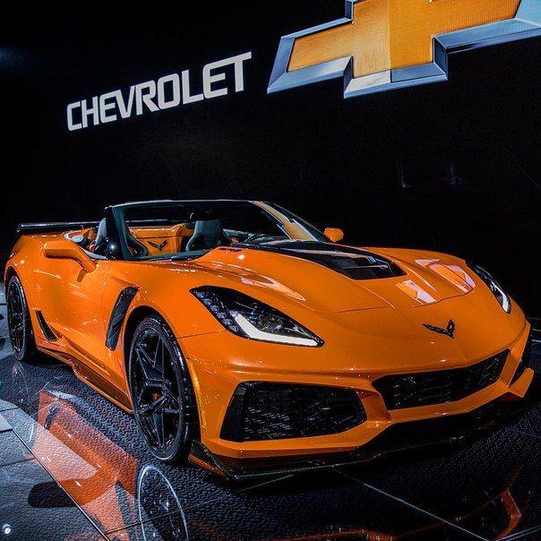 2019 Chevrolet Corvette Zr1 Convertible Exterior At Los Angeles