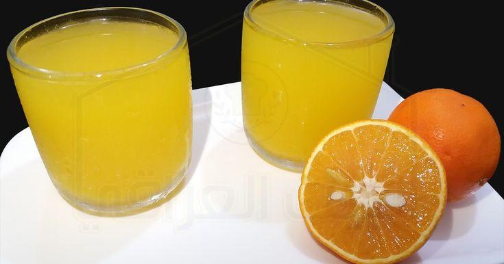 عصير برتقال طبيعي سهل التحضير يمكنك متابعة طريقة العمل بالتفصيل في الفيديو Fruit Orange Food