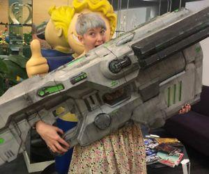 DIY 3D Printed Doom BFG #LavaHot http://www.lavahotdeals.com/us/cheap/diy-3d-printed-doom-bfg/136805