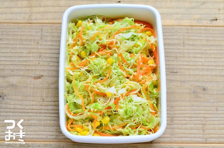 今日は料理やる気しないって時に便利な、キャベツ1/4個で作る手抜きサラダです。冷蔵庫でしおしおになってきたキャベツの救済にも使えます。
