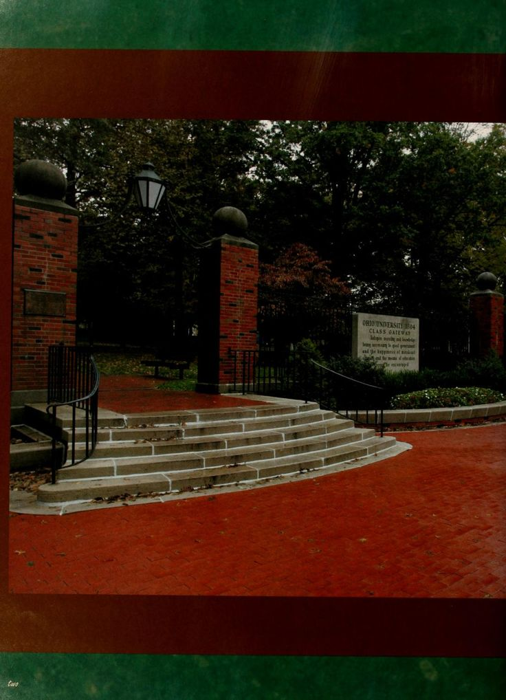 Athena Yearbook, 2006. Fall at Ohio University Ohio