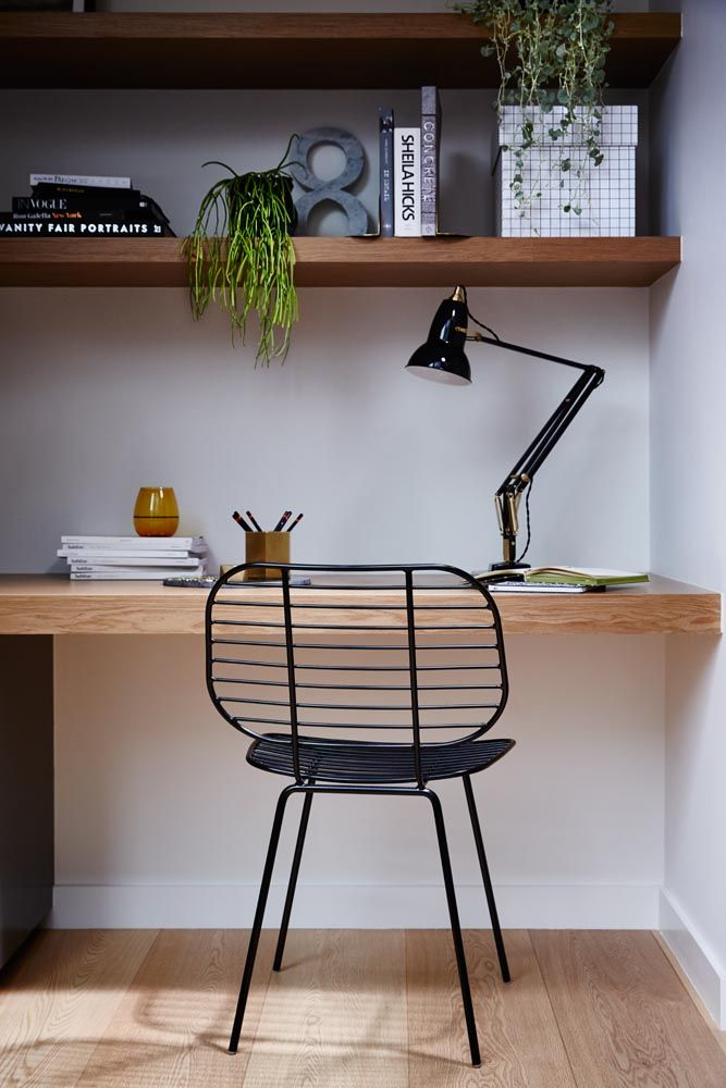 Racket Chair Black - Styling and Art Direction by Moore Concepts and Greenhouse Interiors  Photography by Armelle Habib /// Anglepoise Lamp and Hay boxes from Cult Design. Marble number 8 from BEHR & Co