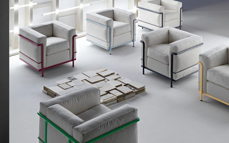 Cassina LC 2 Cassina LC 2, een fauteuil van PLAN@OFFICE ontworpen door Cassina.