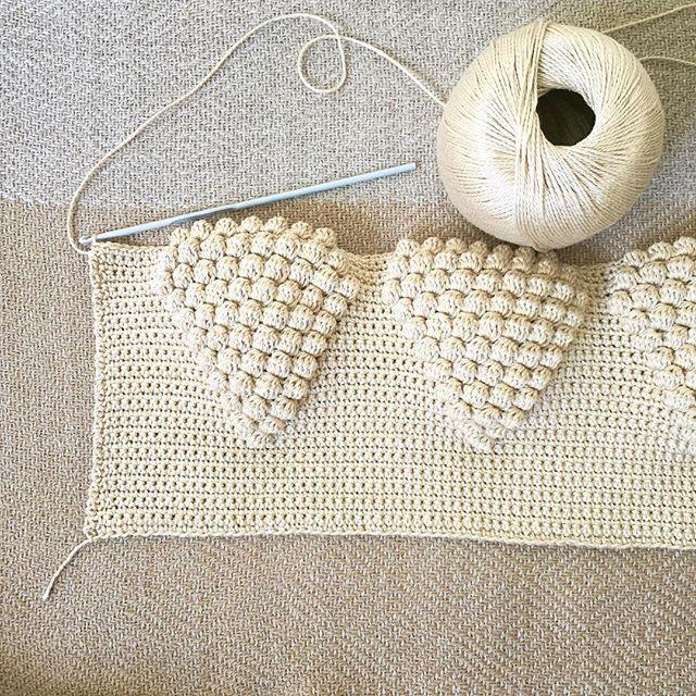 Custom design in progress: #crochet #newproject #handmade #textures #dstextures