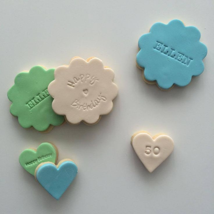 Verjaardagskoekjes Ellen #koekjes #cookies