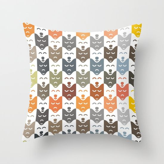 #dogs #pattern #husky #animal #pet #graphic #dog #fashion #style #throwpillow #home #decor