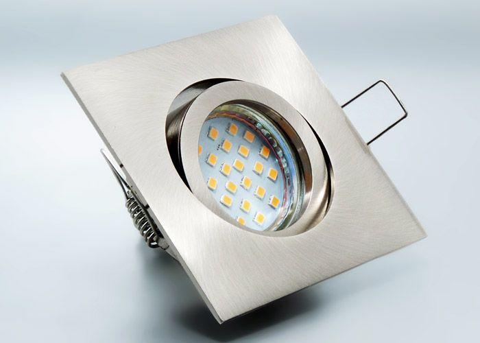 LED Einbaustrahler Set Mit Marken GU10 Spot Nextec 4 Watt Alu Druckguss