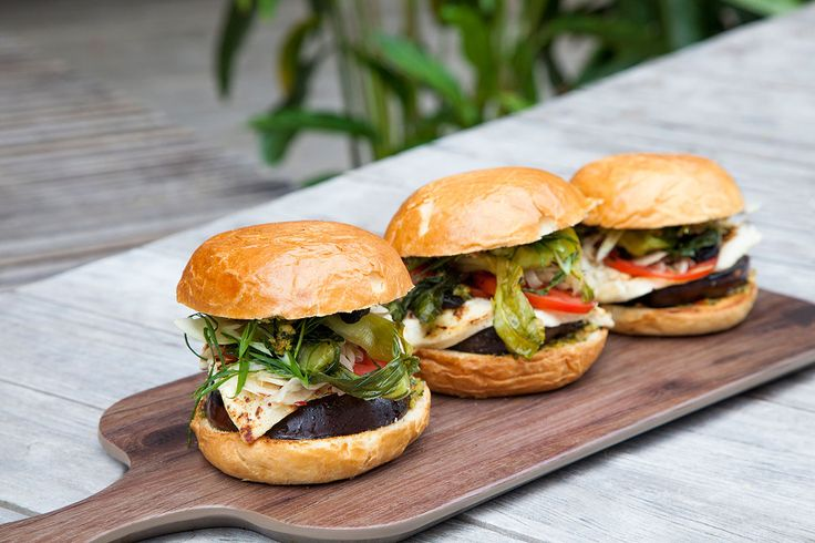 So tasty and good, the combination of these flavours makes for stunning vegetarian burgers. Get into pickling vegetables, because they're not only good for you, they also add a wonderful tang.