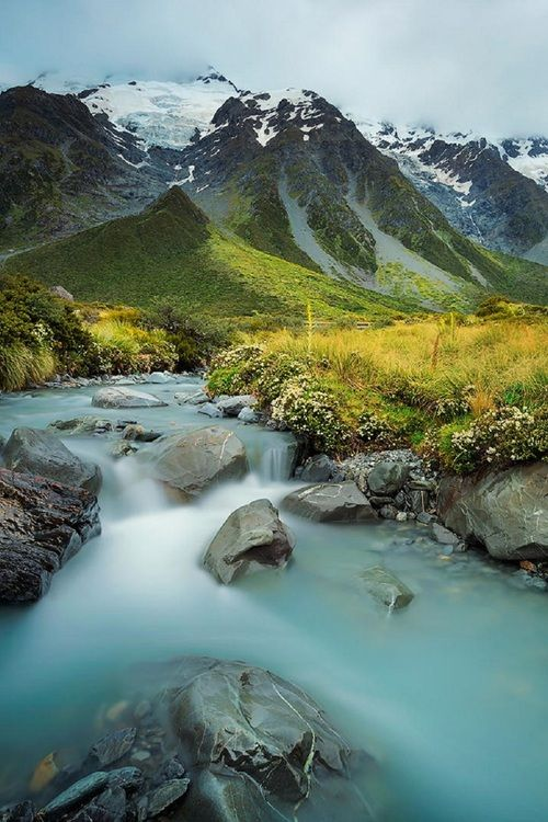Mount Cook-Aoraki, South Island, New Zealand   Beauty Outdoors   Pinterest   South island, New ...