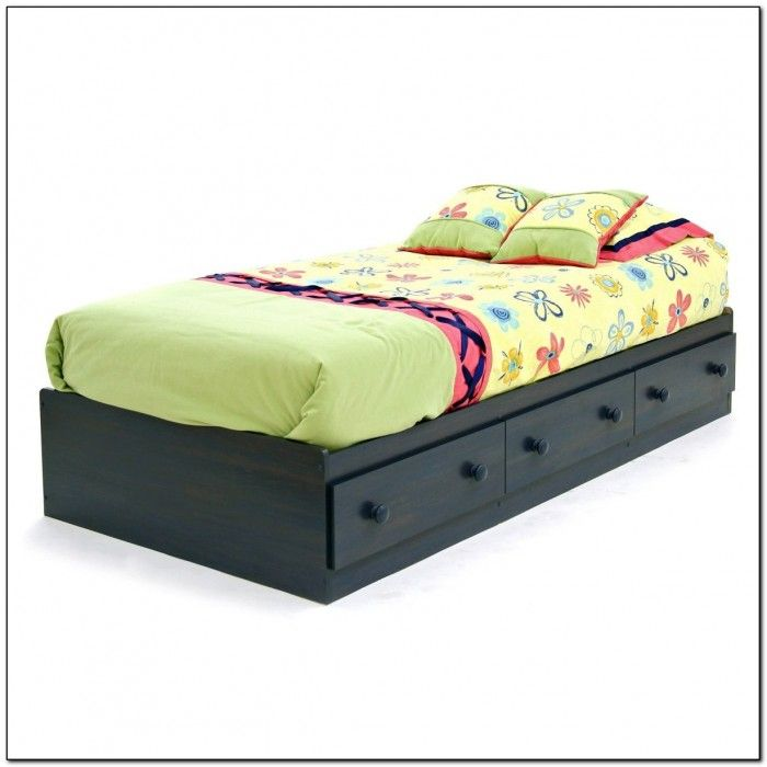 Best 25 ikea twin bed ideas on pinterest twin unit for Platform bed with drawers ikea