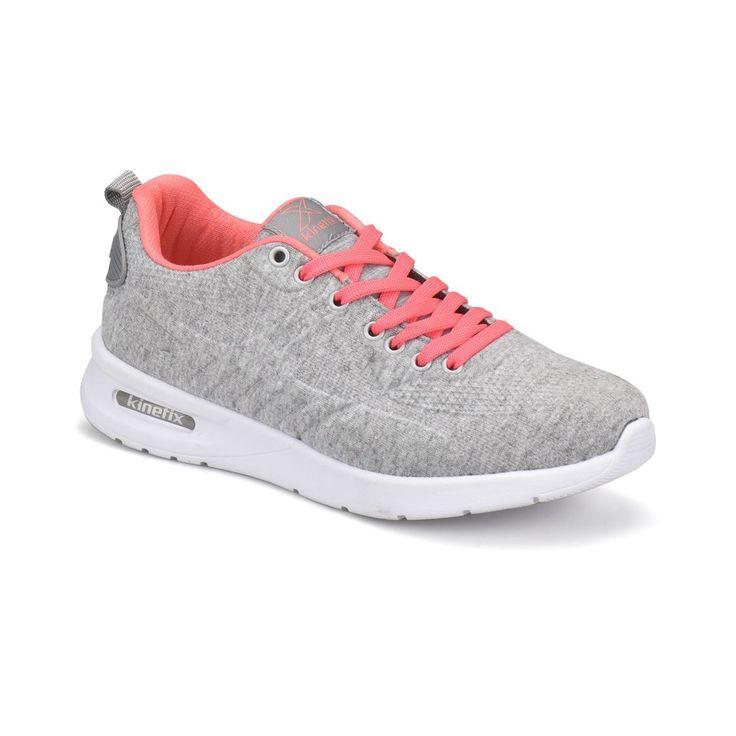 Kinetix Gri Mel Kadn Sneaker SS18 newseason