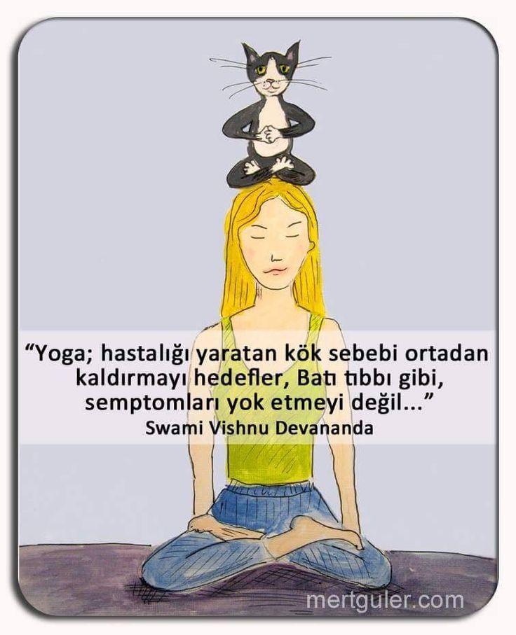Yoga hastalığı yaratan kök sebebi ortadan kaldırmayı hedefler.