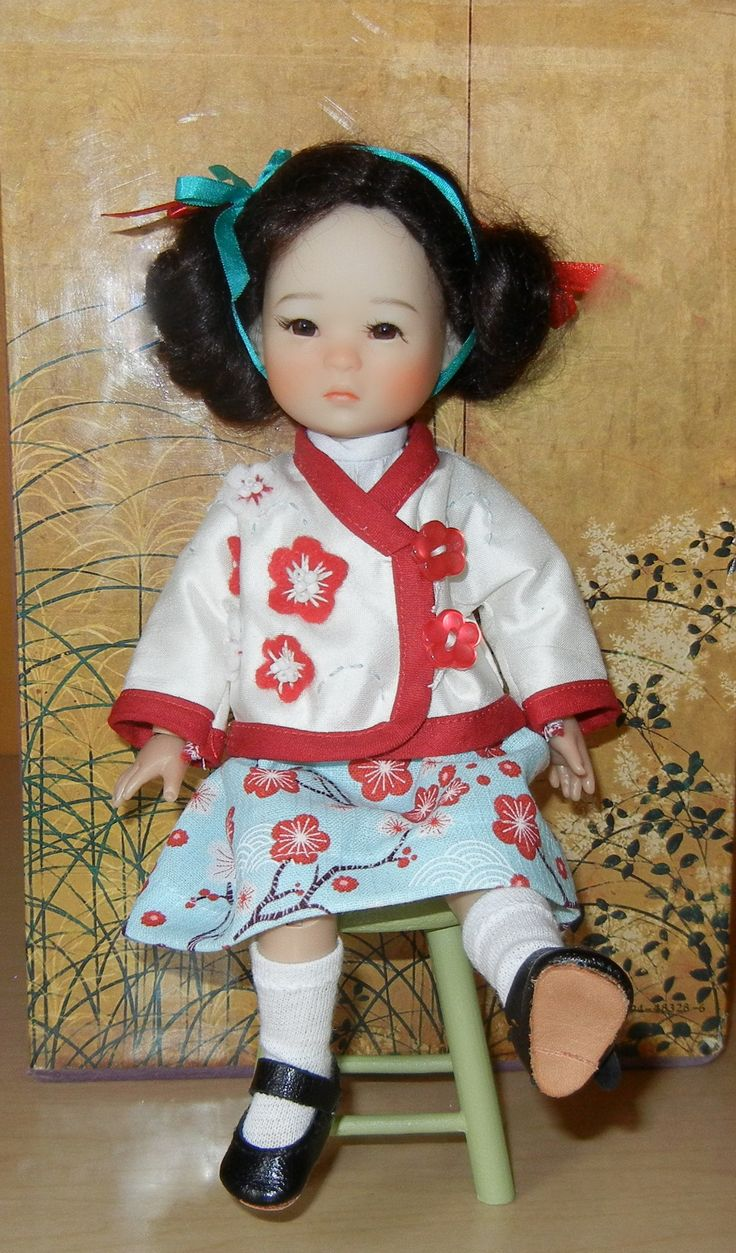 Ten Ping's  Cherry Blossom Jacket.  Silk with felt appliques, embroidery and beading.  Sewn by MarieS