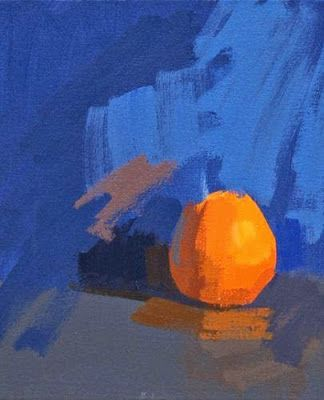 The Use Of Complementary Colours Orange And Blue Are A Prime Example How Cool Tend To Recede As Background Warm Colour Is Brought
