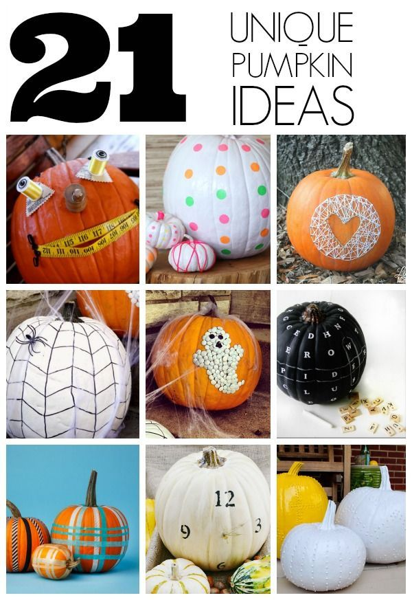 Unique Pumpkin Ideas Pumpkins Decorating Ideas And