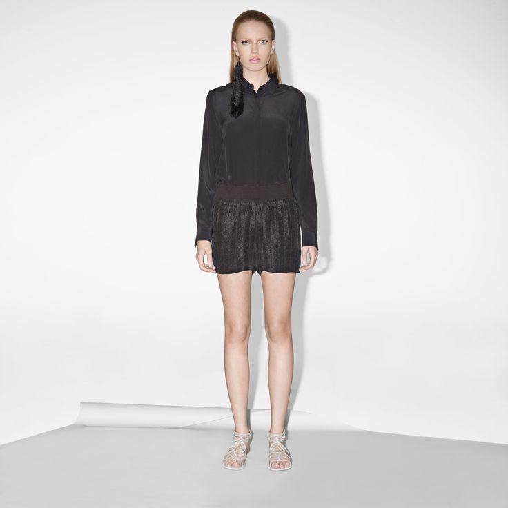 FWSS Endless Summer are textured silk shorts with an elasticated waist.  http://fallwinterspringsummer.com/