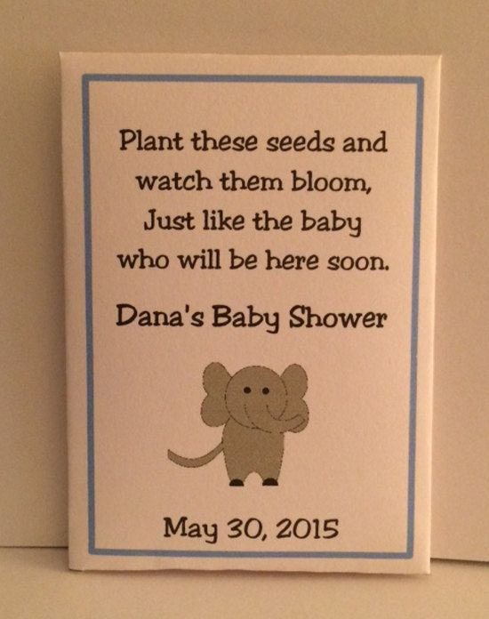 50 Elephant Baby Favors Baby Shower Favors Baby by FavorUniverse