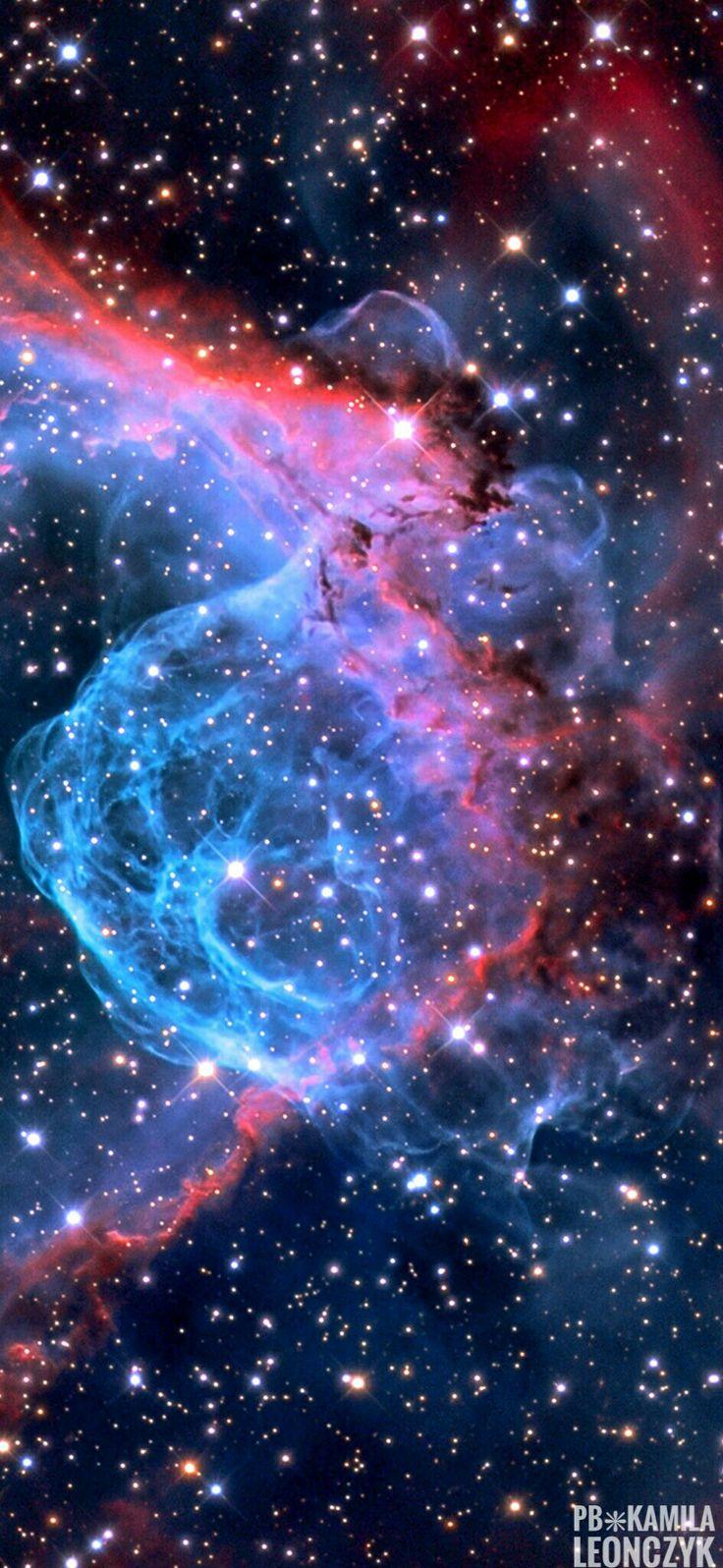 Thor's Helmet Emission Nebula
