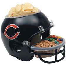 NFL Snack Helmet Chicago Bears Serving Bowl
