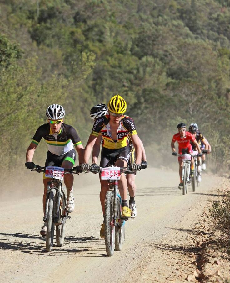 "100km offroad race from UNIONDALE to KNYSNA via the Prince Alfred's Pass in aid of ""SightFirst"""