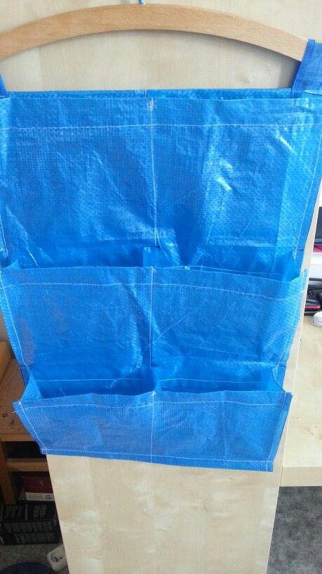 Diy 6 Plant Pockets 0 59 Usd From Ikea Shopping Bag Frakta