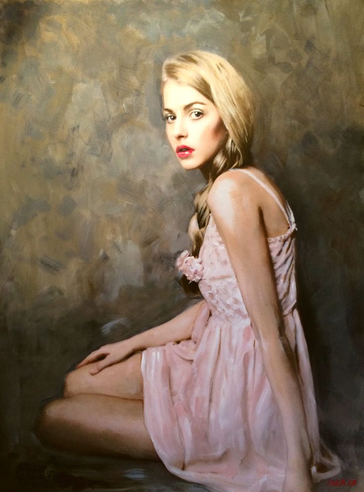 FineArtSeen.com - View The Rose by William Oxer. Discover more Paintings by the talented painter for sale. FREE Delivery and 14 Day Returns.