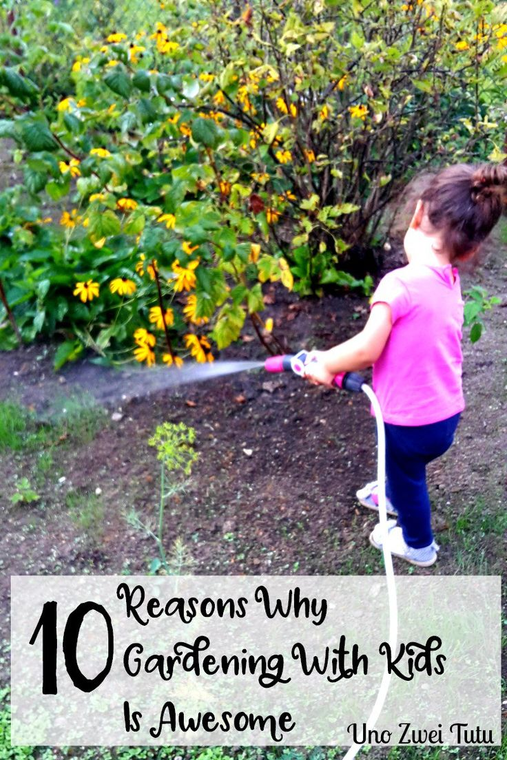 Gardening is an amazing activity to bond with our children and it also countless opportunities for learning science and life skills. Here are 10 reasons why you should be gardening with your kids.