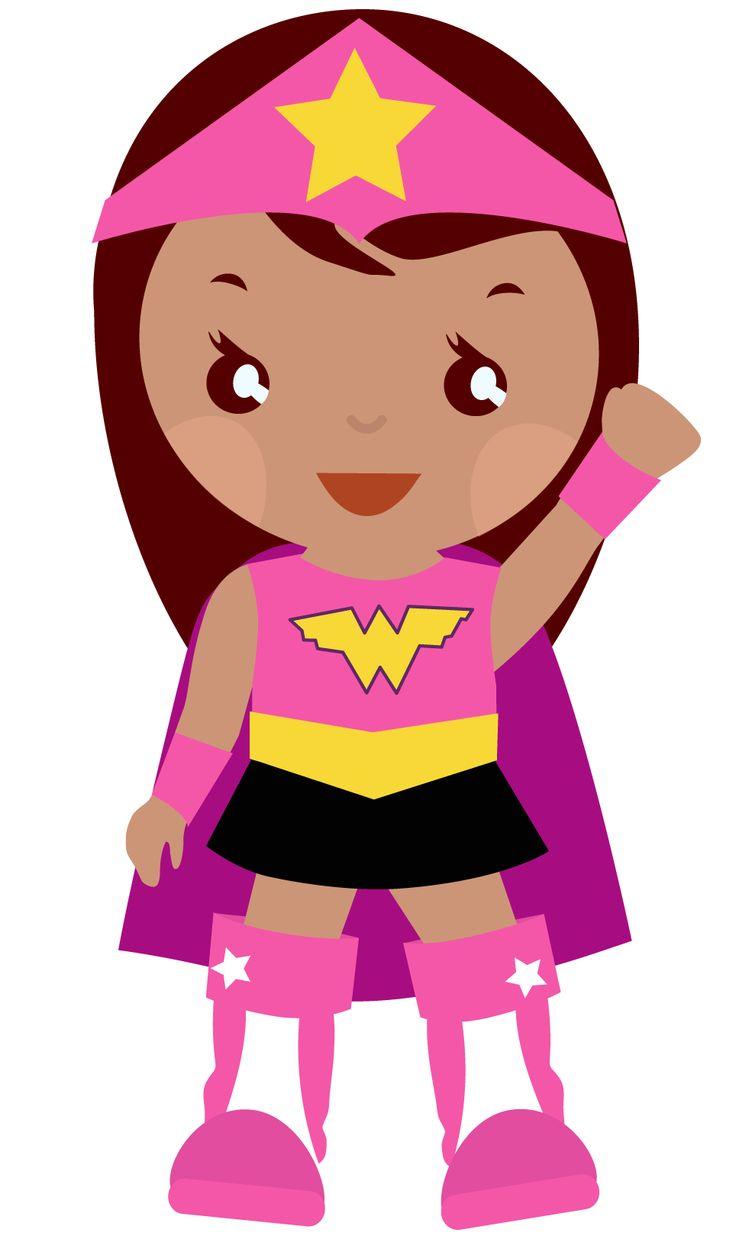 #clipart #girl #superhero