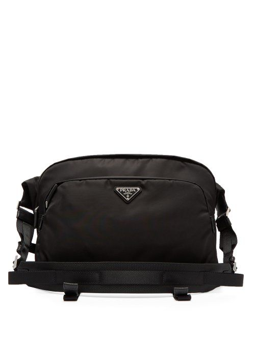 beff2b11 PRADA PRADA - NYLON CROSS BODY BAG - MENS - BLACK. #prada #bags ...