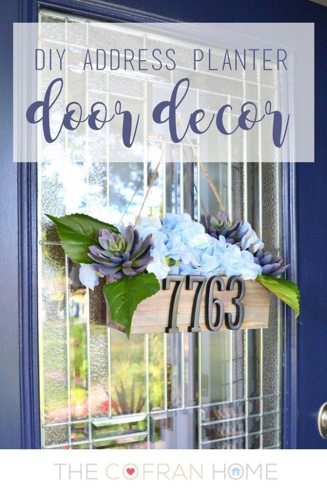 Your Front Door NEEDS This Address Sign