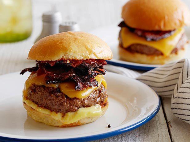 Ultimate Backyard Burger Recipe : Food Network - Smoked Chili Ketchup - Incredibly good!