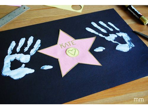 Hollywood Heroes Theme - An idea for a personalised placemat for all your guests.