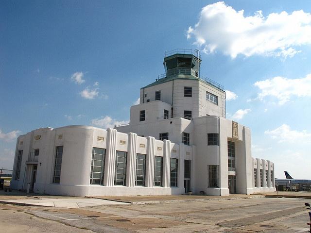 Houston Texas Hobby Airport 1940 Air Terminal.